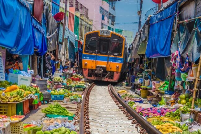 Залізниця Maeklong, Таїланд