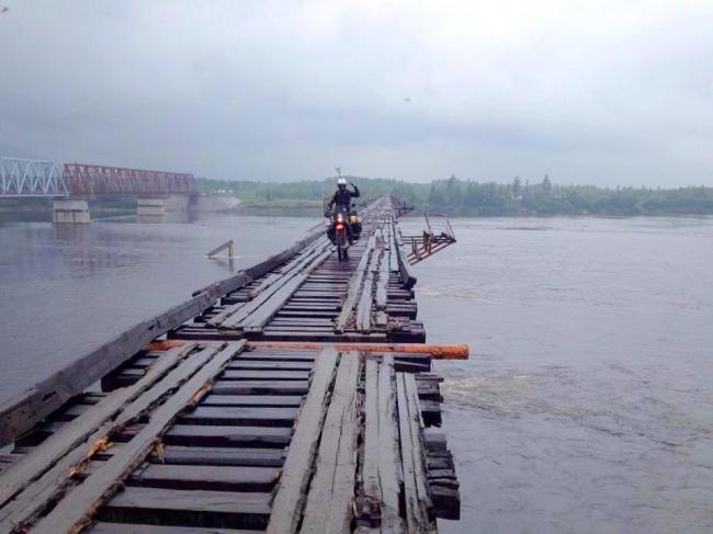 Міст через ріку Вітім