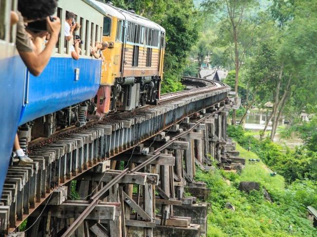 Смертельна залізниця, Таїланд