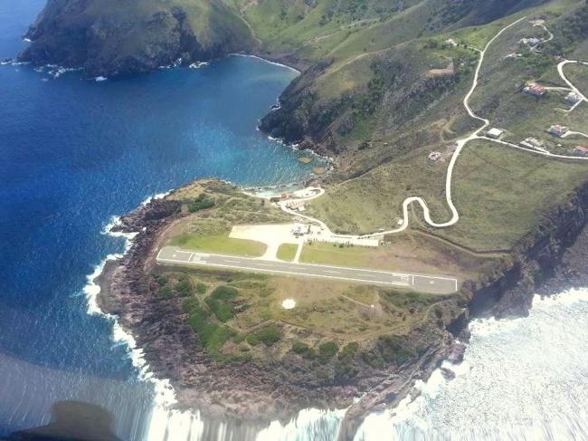 Аеропорт Саба - найкоротша злітно-посадкова смуга в світі