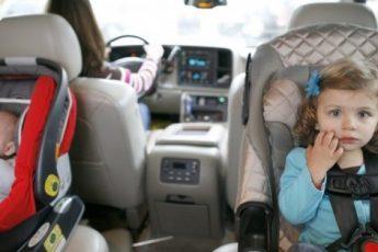 Перевезення немовлят в автомобілі